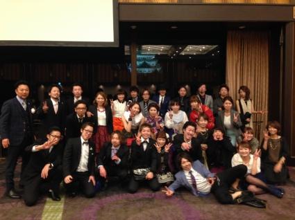 新栄/LOAOL AOI:グループ全体の新年会