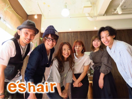 東別院/e's hair(エスヘアー):スタッフ集合♪