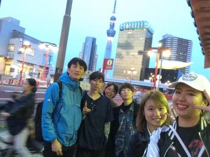東京旅行に行きました!浅草!(2017月4年)