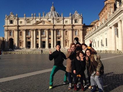 海外研修でイタリアへ