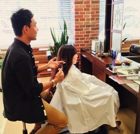 小牧市/ hair salon riri:サロン風景